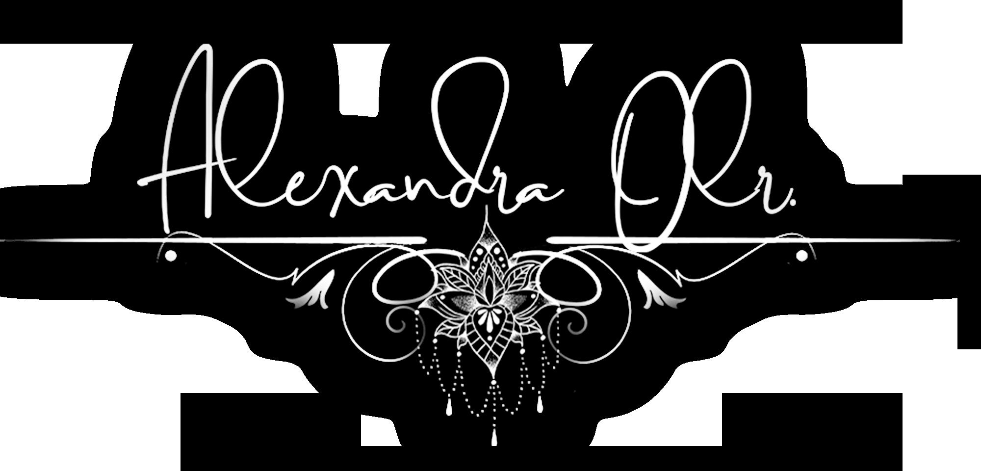Alexandra Olr. Logo