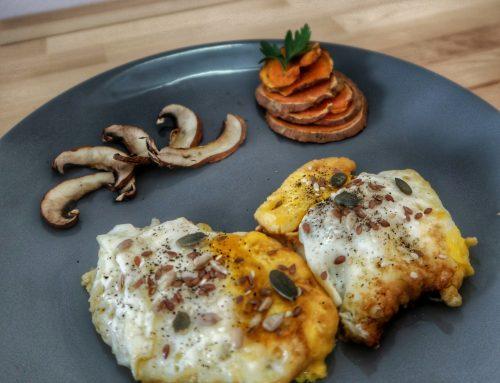 Healthy Plates – Plating pentru două ouă