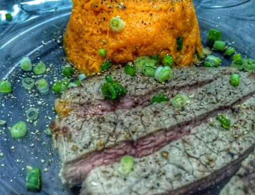 Healthy Plates – Piure de morcov si vită