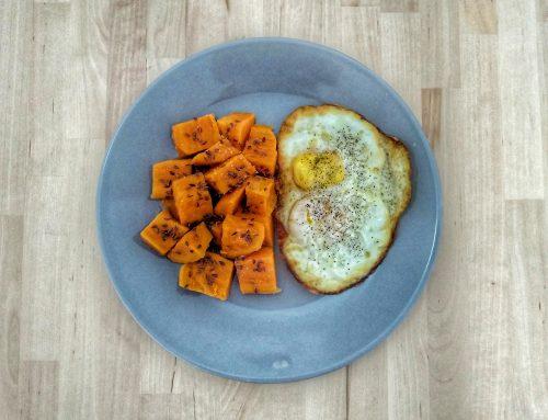 Healthy Plates – Cartofi dulci și ou