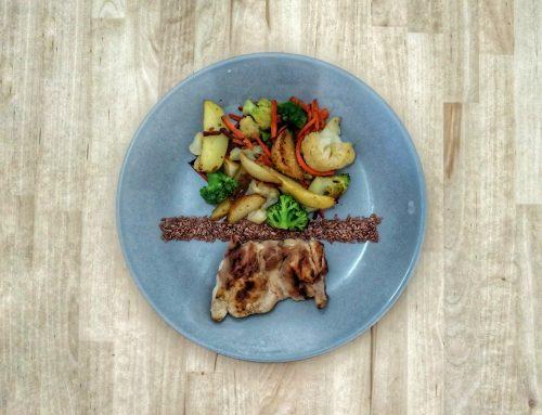 Healthy Plates – Pui cu legume