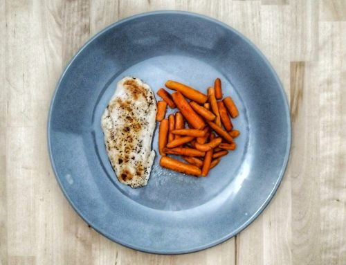Healthy Plates – Baby carrots